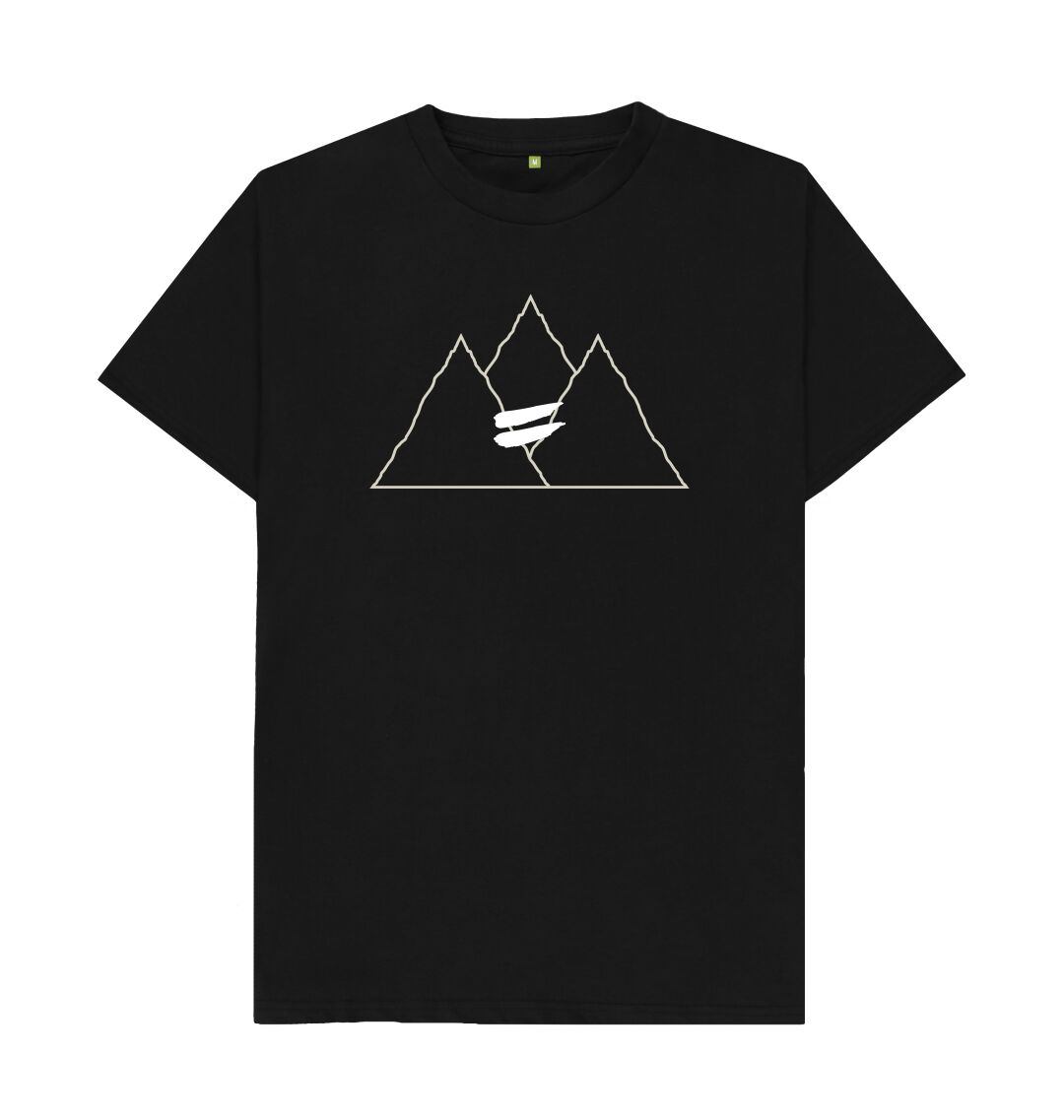 Black Summit Tee in Snow - Men's
