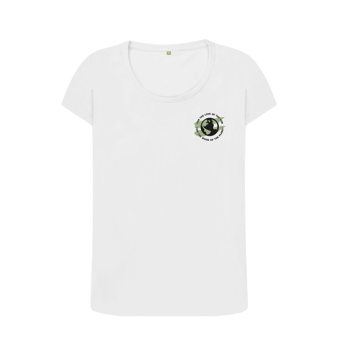 White Earth Scoop Tee in Terrain - Women's