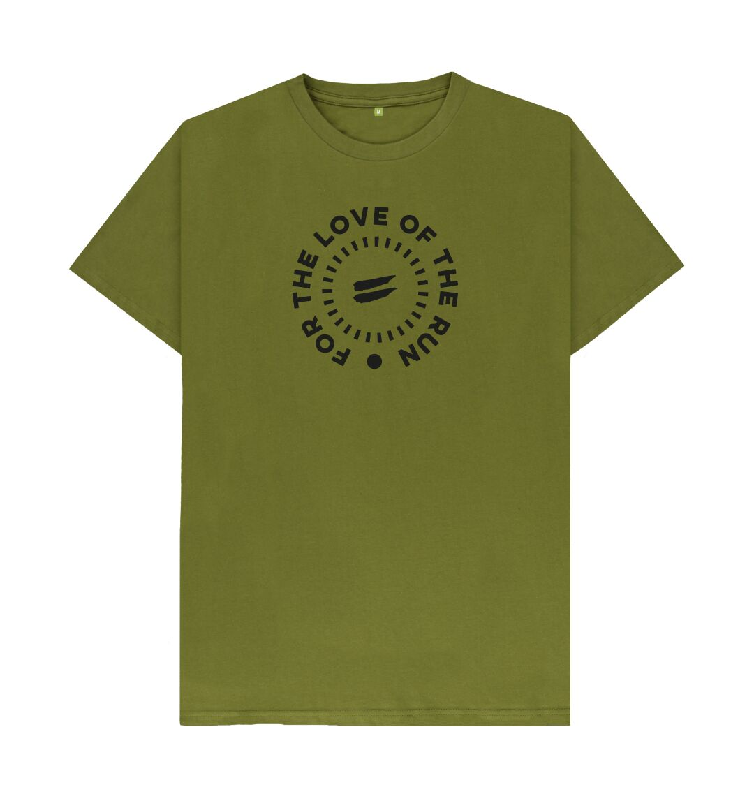Moss Green For the Love of the Run Tee - Men's