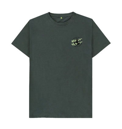 Dark Grey Earth Tee in Terrain - Men's