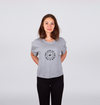 For the Love of the Run Tee Crop -  Women's