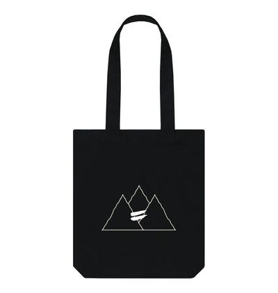 Black Summit Bag in Snow