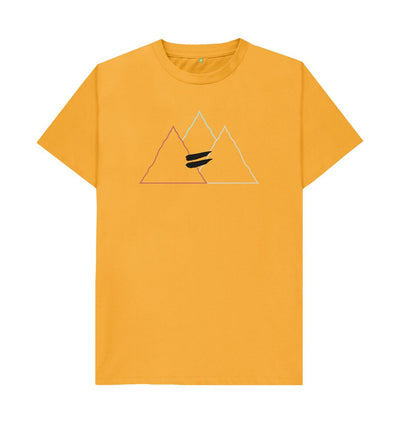 Mustard Summit Tee in Multi - Men's
