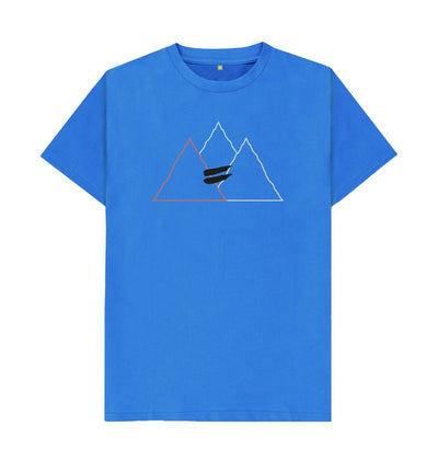 Bright Blue Summit Tee in Multi - Men's