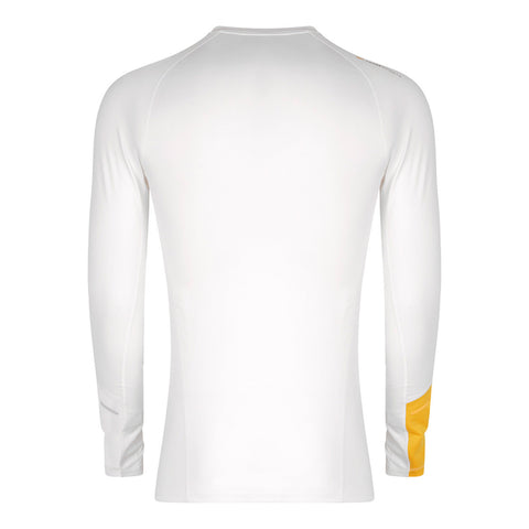 Men's Thermal Running Base Layer - White , Tribesports - 2
