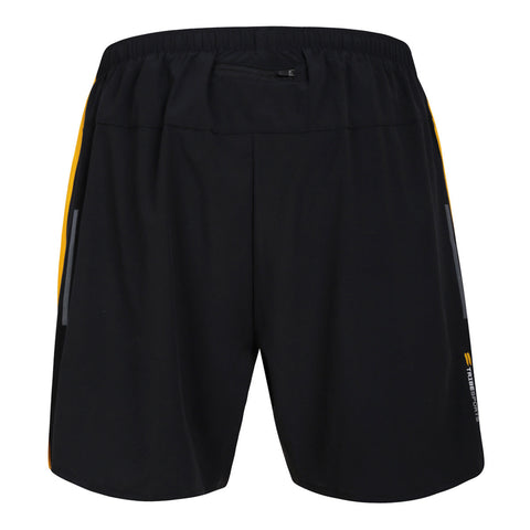 Men's Running Shorts - Black / Yellow , Tribesports - 2