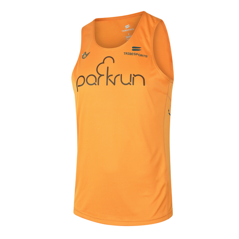 parkrun men's performance singlet , parkrun - 1