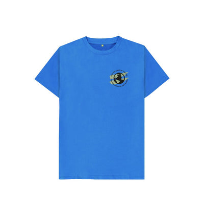 Bright Blue Earth Tee in Terrain - Kid's