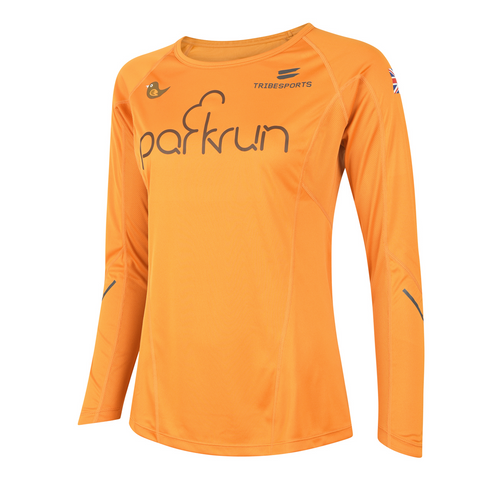 parkrun women's performance long sleeve t-shirt UK , parkrun - 1