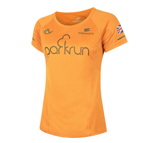 parkrun women's performance short sleeve t-shirt UK , parkrun - 1