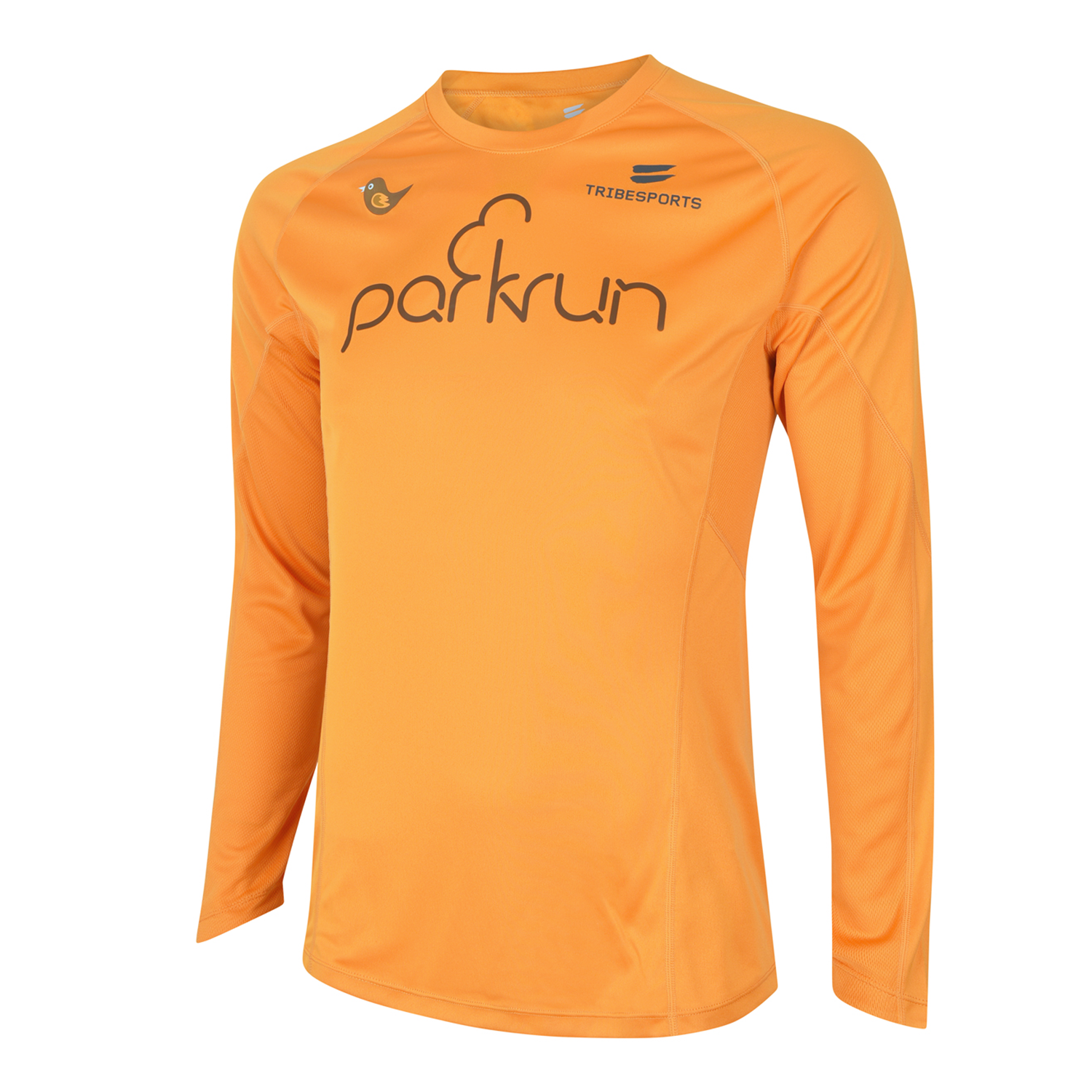 parkrun men's performance long sleeve t-shirt , parkrun - 1
