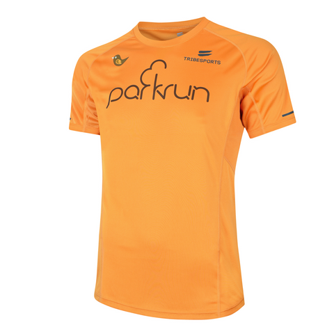 parkrun men's performance short sleeve t-shirt , parkrun - 1