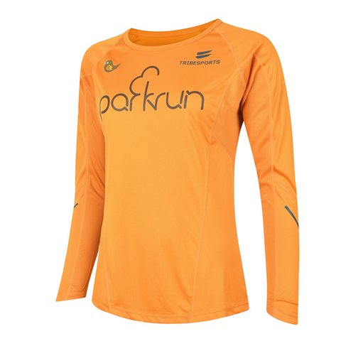 parkrun women's performance long sleeve t-shirt , parkrun - 1