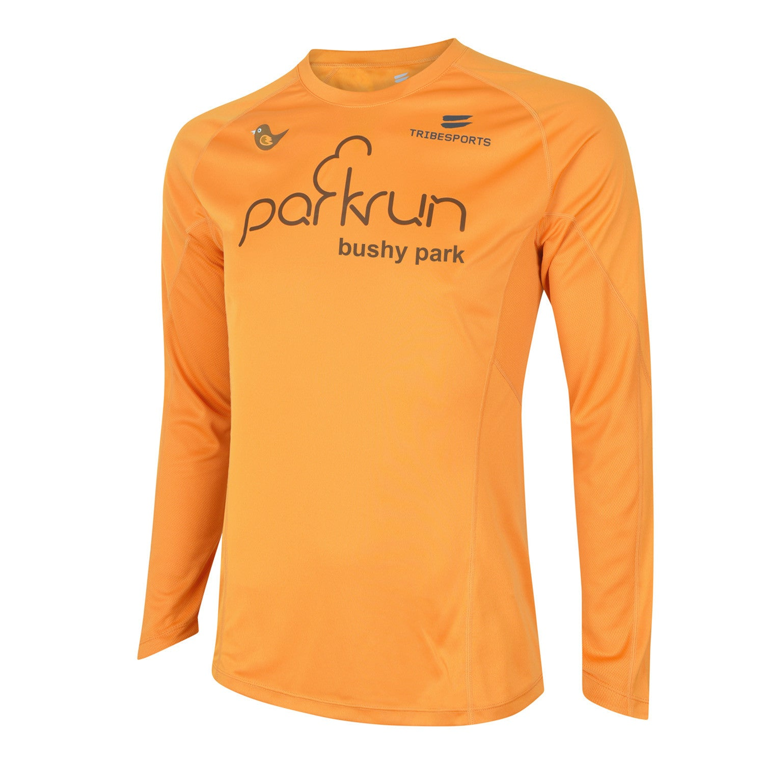 parkrun men's performance long sleeve t-shirt , parkrun - 4