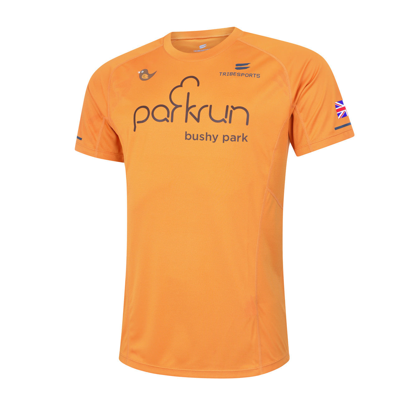 parkrun men's performance short sleeve t-shirt UK , parkrun - 4