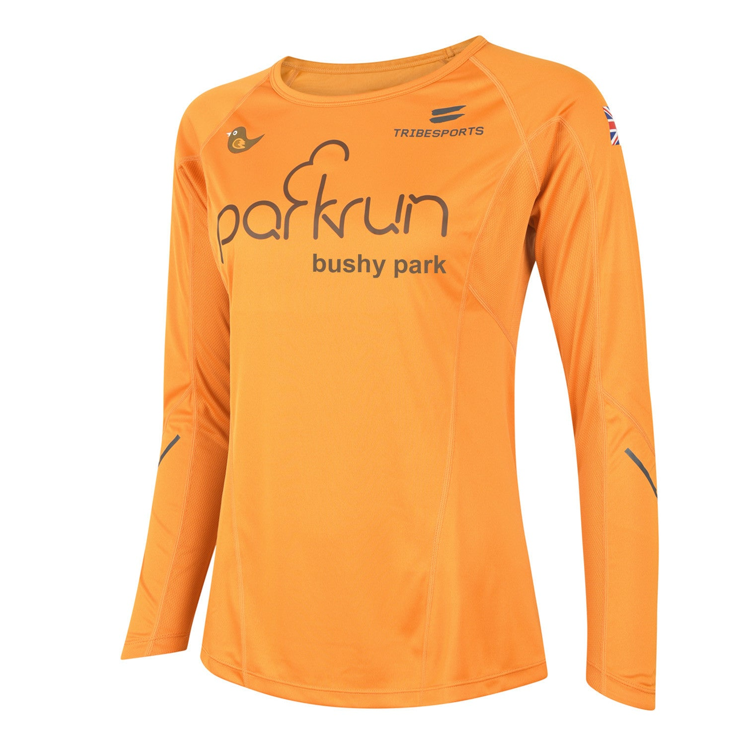 parkrun women's performance long sleeve t-shirt UK , parkrun - 4