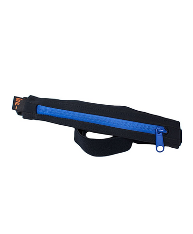 SPIbelt Performance Black/Blue Zipper