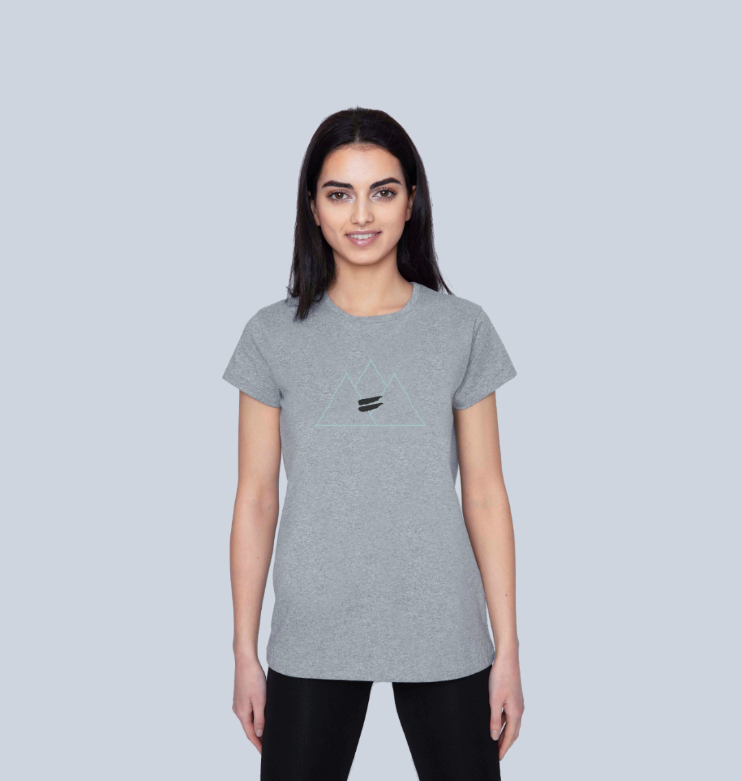 Summit Tee in Sky - Women's