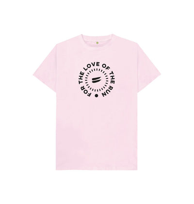 Pink For the Love of the Run Tee - Kid's