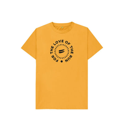 Mustard For the Love of the Run Tee - Kid's