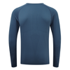 Engineered Long Sleeved Tee - Slate Blue
