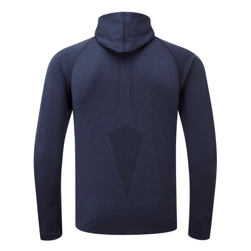 Engineered Hoodie - Rich Royal Melange
