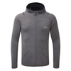 Engineered Hoodie - Stone Grey Melange