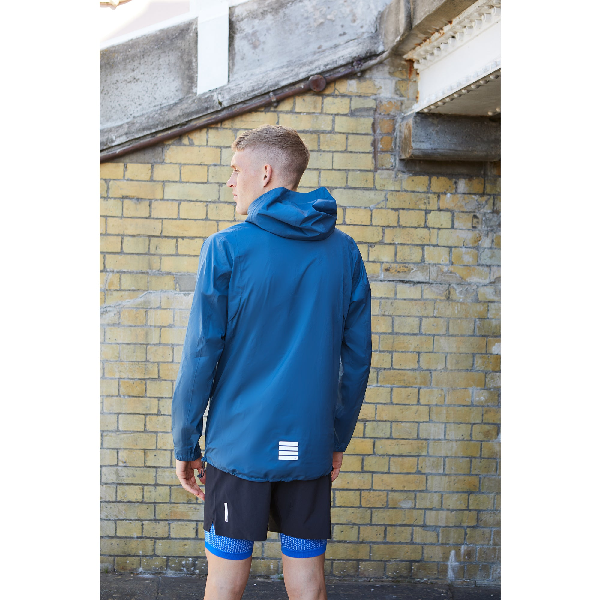 Running Jacket - Pewter Blue