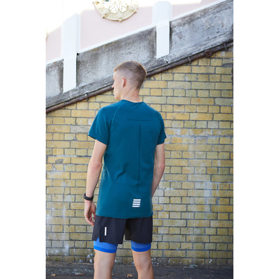 Engineered S/S T - Petrol Green