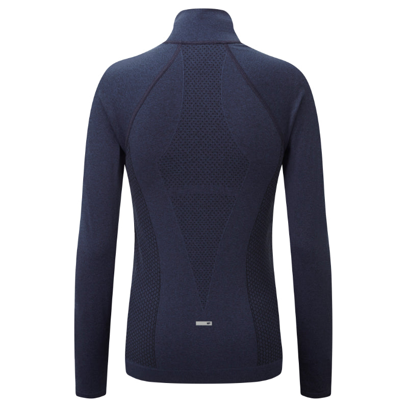 Engineered Long Sleeved Zip Jacket - Rich Royal Melange
