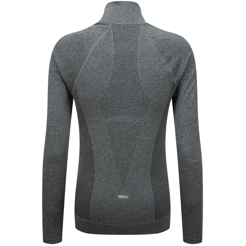 Engineered Long Sleeved Zip Jacket - Charcoal Melange