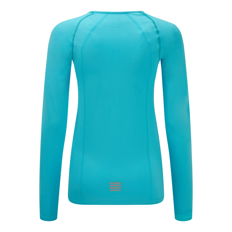 Engineered Long Sleeve Top - Fresh Aqua