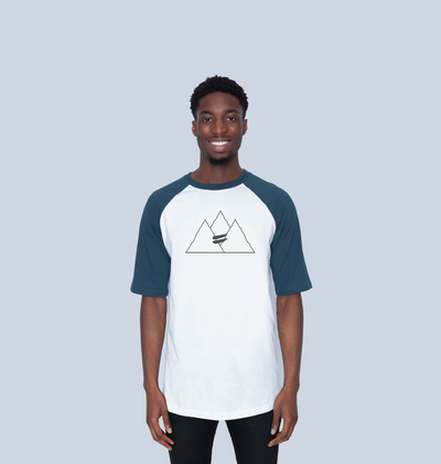 Summit Tee in Navy - Men's