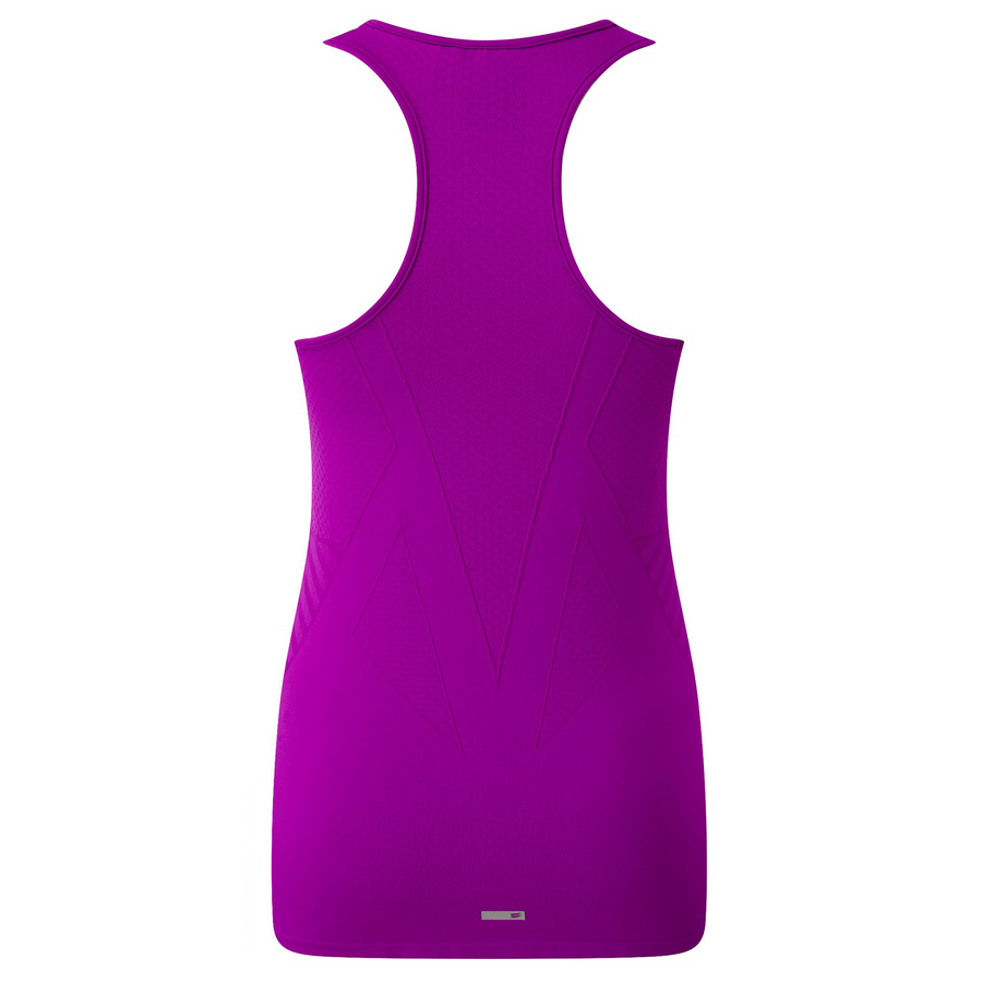 Racer Back Vest - Berry