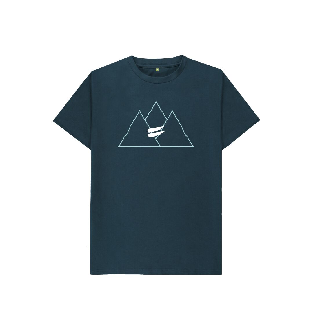 Denim Blue Summit Tee in Sky - Kid's
