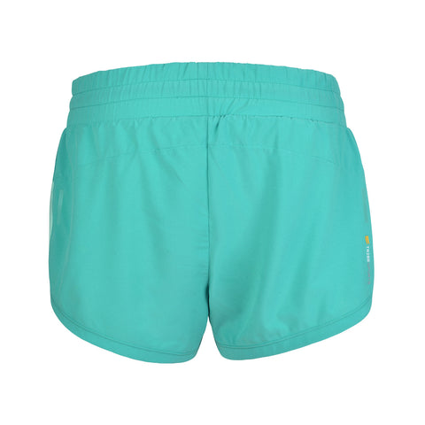 Women's 2 in 1 Running Shorts - Turquoise , Tribesports - 2