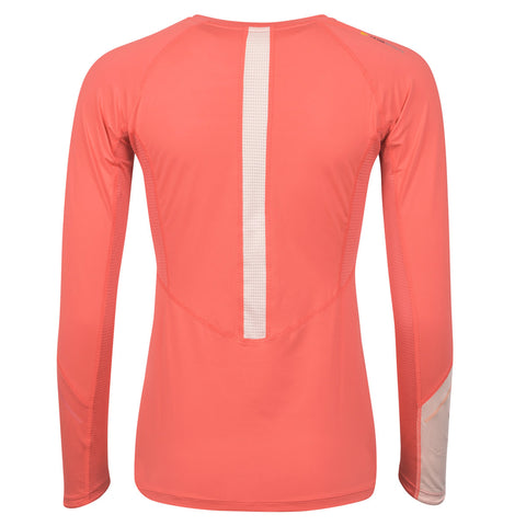 Women's Long Sleeve Running Top - Coral , Tribesports - 2