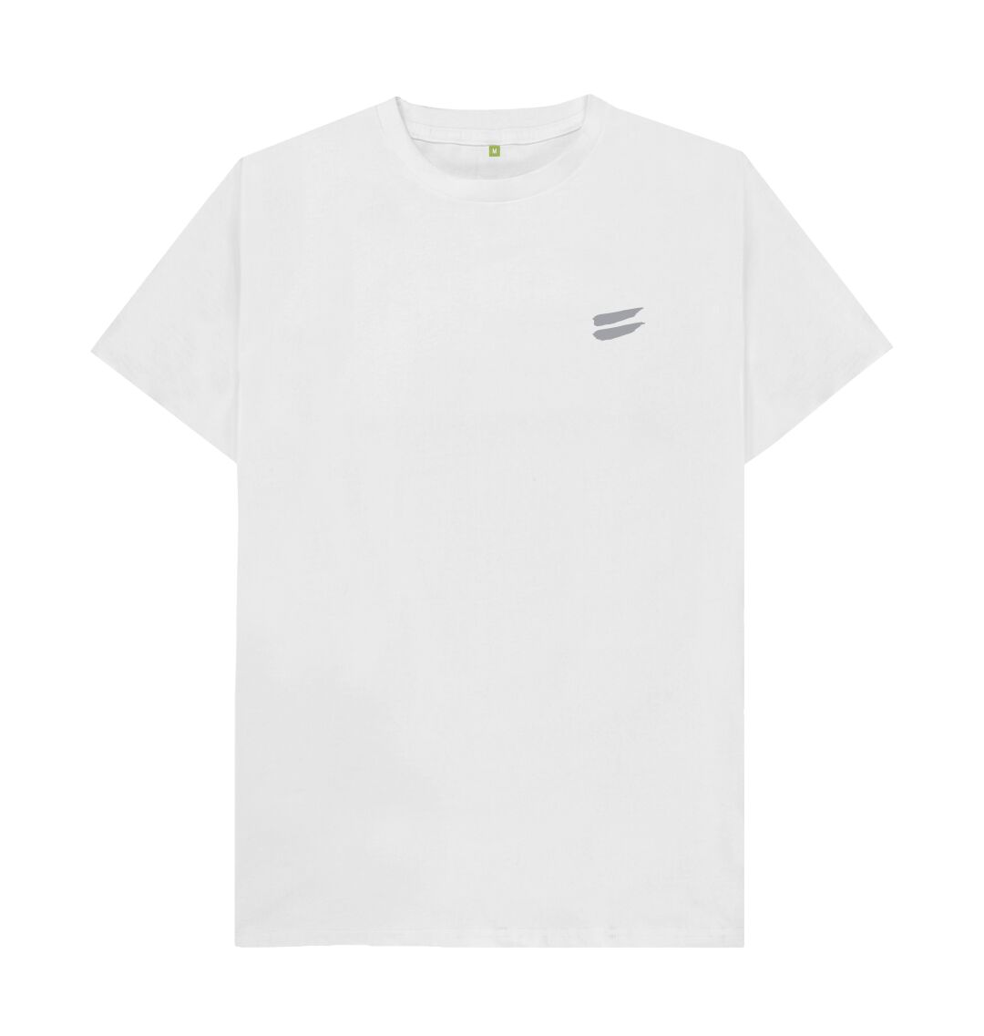 White Tribe Tee in Steel - Men's