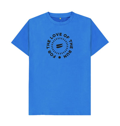 Bright Blue For the Love of the Run Tee - Men's