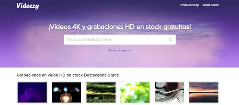 Descargar videos gratis videezy