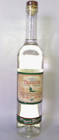 Mezcal Blanco Benesin Double Distilation- Limited Stock