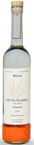 Mezcal Memorable Wild Agave Arroqueño- very limited stock