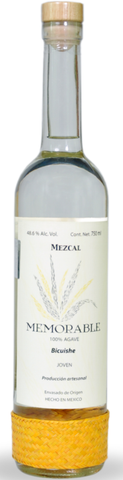 Mezcal Memorable Wild Agave Bicuishe - very limited stock
