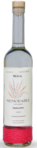 Mezcal Memorable Wild Agave Madrecuishe