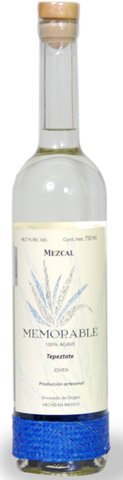 Mezcal Memorable Wild Agave Tepeztate- very limited stock