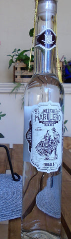 Mezcal Marillero 100% Tobalá Wild Agave - 375 ml Bottle - VERY FEW BOTTLES IN STOCK- 50% OFF!