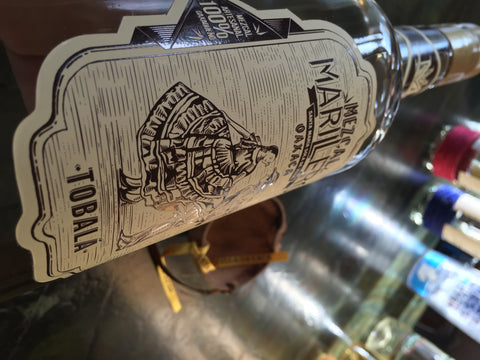 Mezcal Marillero 100% Tobalá Wild Agave - SOLD OUT! You can choose the 375 ML bottle