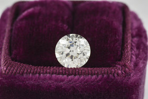 Loose Antique GIA Certified 2.43 Carat Old European Brilliant Cut Diamond from Edwardian / Art Deco Era