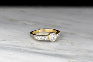 Two-Toned Belle Époque Diamond Ring (c. 1900s)
