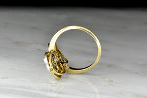 Exquisite Antique Belle Époque 18K Gold and Platinum Diamond Ring
